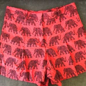 High waisted pleated Jcrew shorts EUC SIZE 6